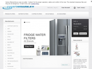 Professional water filters for fridges